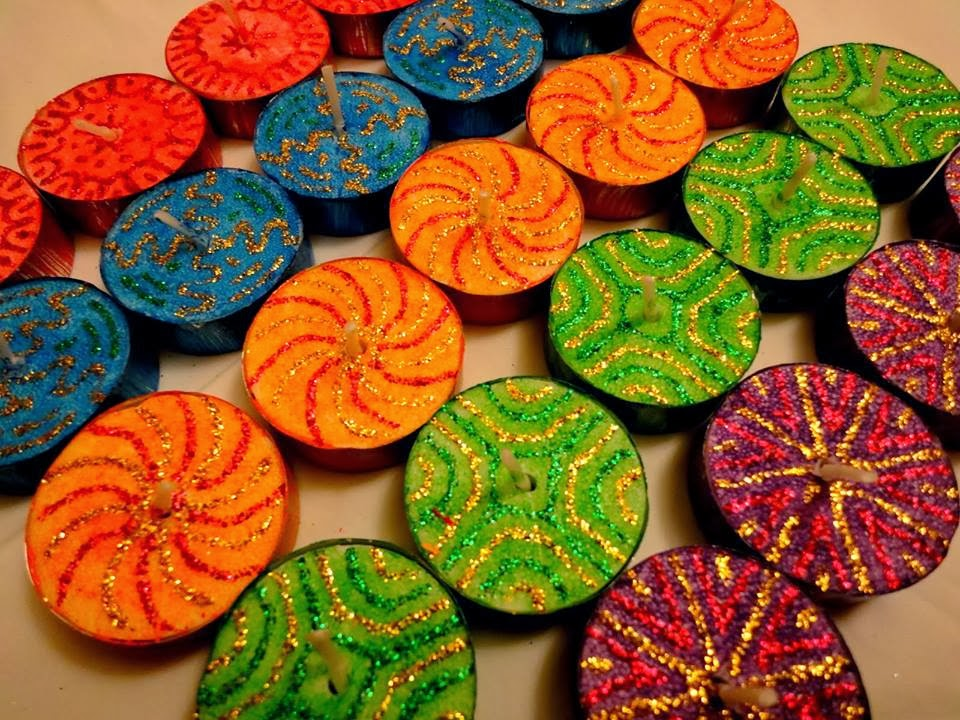 Simple Diwali Painting Www Picswe Com