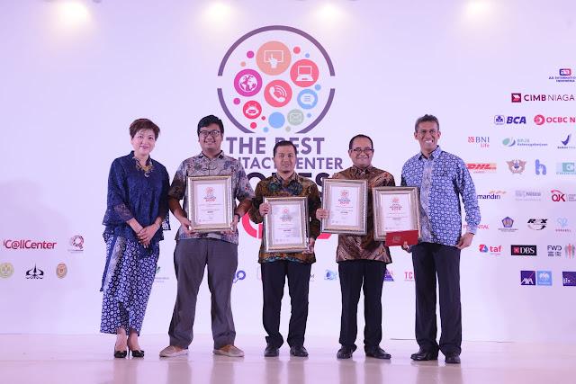 PGN Raih 5 Penghargaan di Ajang The Best Contact Center Indonesia