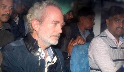 अगस्त माइकल वेस्टलैंड में क्रिश्चियन माइकल की तस्वीर जो भारत में प्रत्यर्पित की गई थी Christian Michel Names Scammwer in AugustaWestland Scam