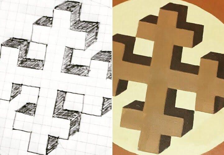 Paint a Greek Cross