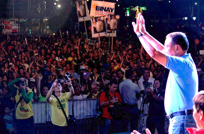Nearly 40,000 Cebuanos attend Binay's rally in Cebu City