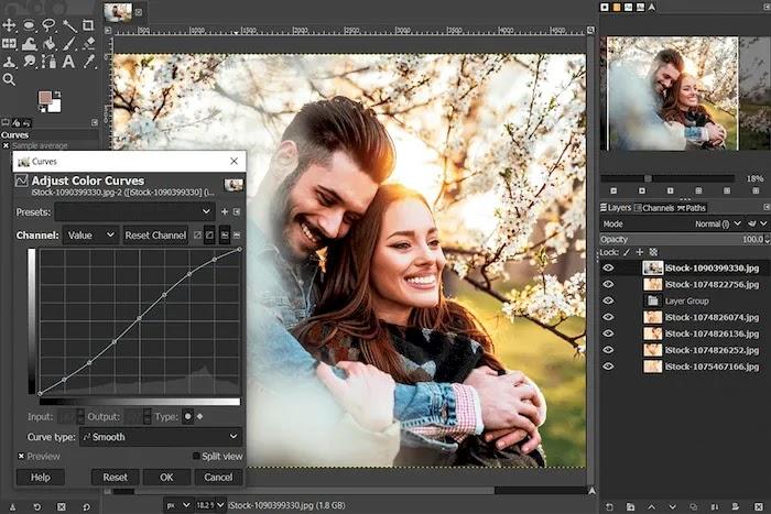 Best Free Photoshop Alternatives GIMP