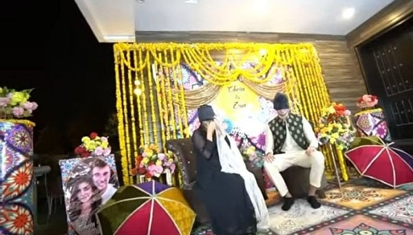 zoya nasir and chris betzmann wedding