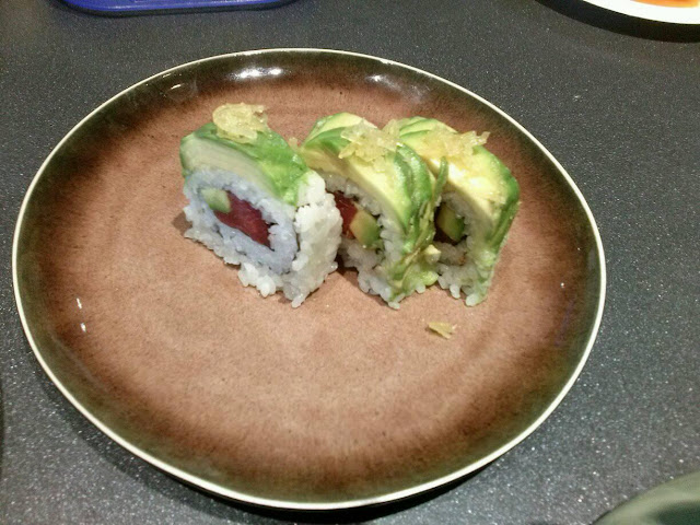sushi con avocado chef giovanni grasso