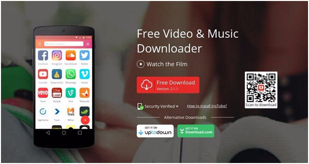 InsTube Music Downloader app