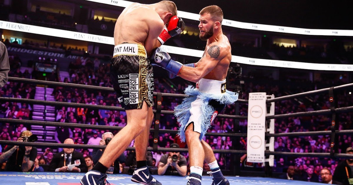 Celeb Plant Outworks and Stops Vincent Feigenbutz In the Tenth Round