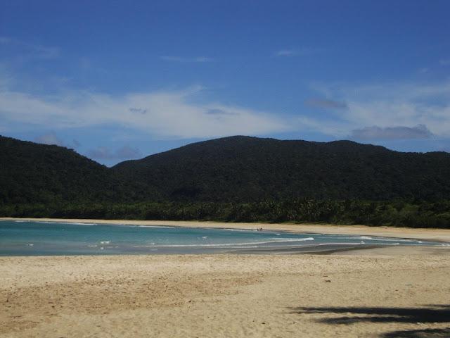 Casapsapan beach shoreline, Casiguran, Aurora Province