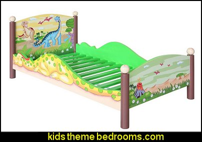 Teamson Dinosaur Toddlers Bed