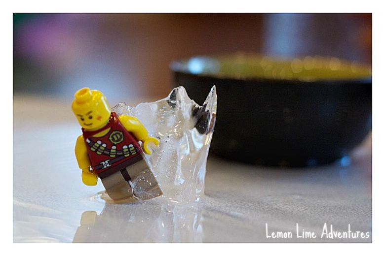 lego ice excavation summer activities for preschoolers