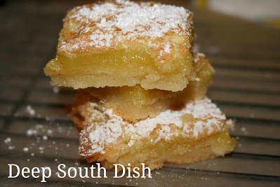 weet and tart, these old fashioned lemon squares are a classic.