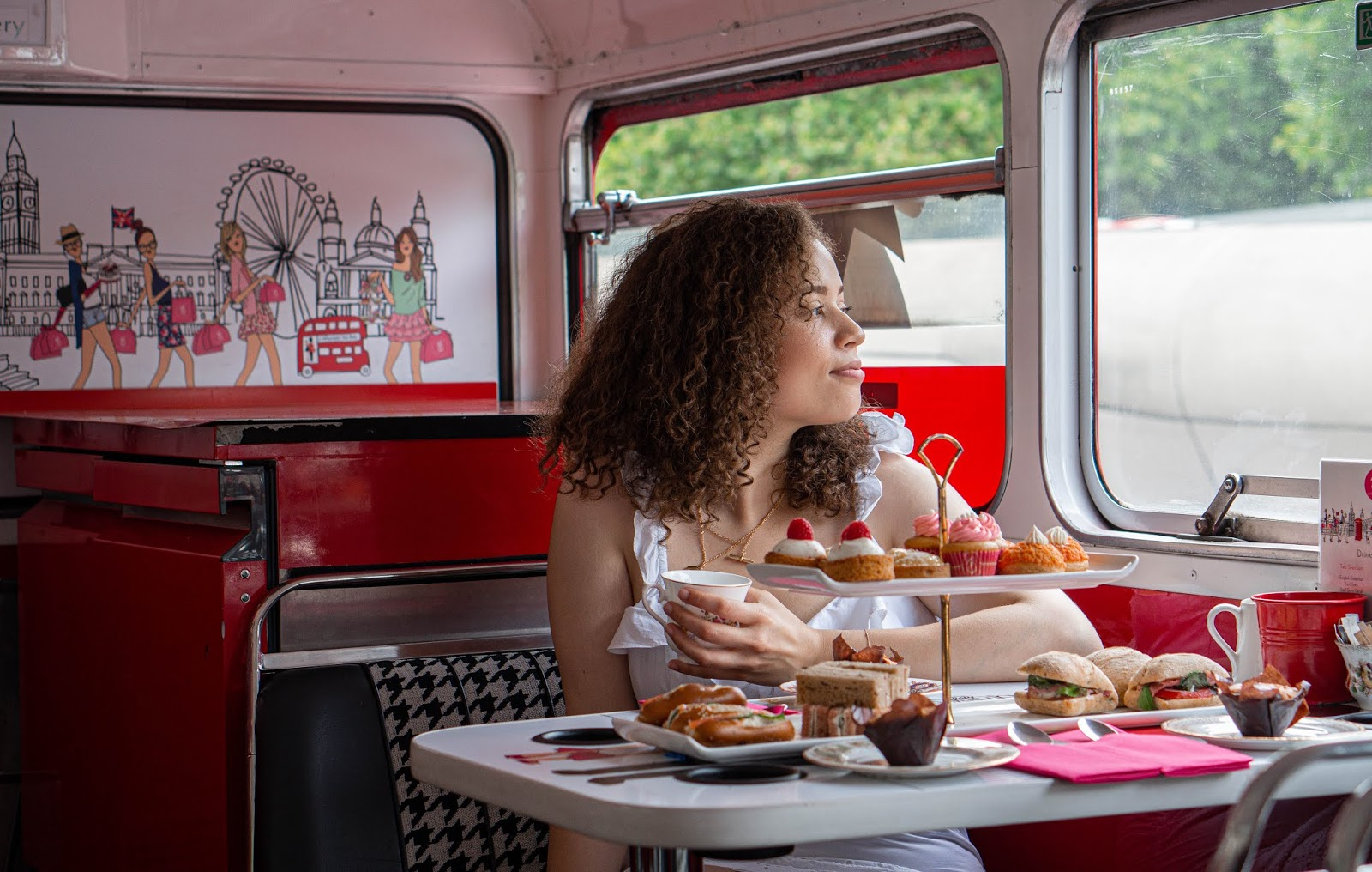 Afternoon Tea on a London Bus!