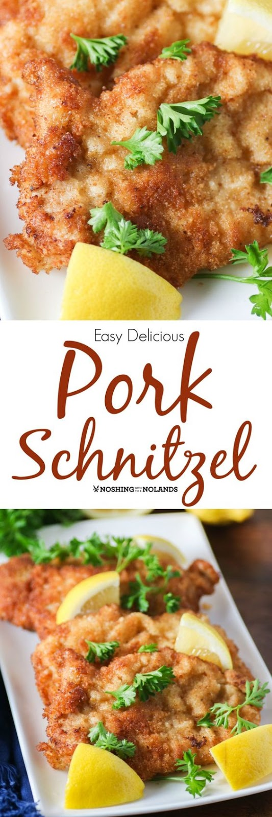 EASY DELICIOUS PORK SCHNITZEL