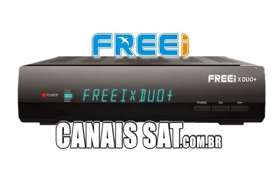 Freei X Duo+ Plus Nova Atualização V4.20 - 02/12/2019