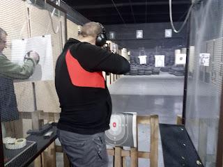 na strzelnicy