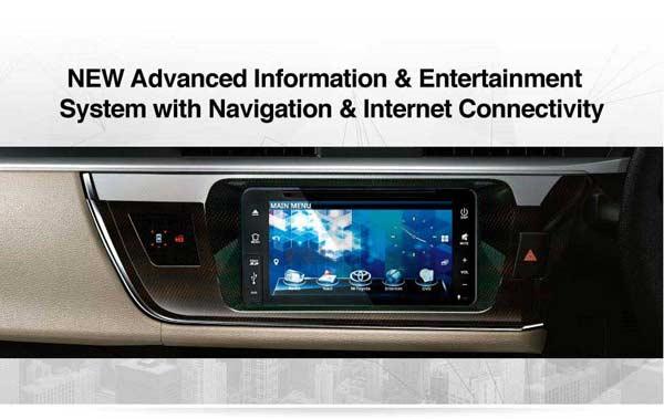 Interior All New Toyota Corolla Altis