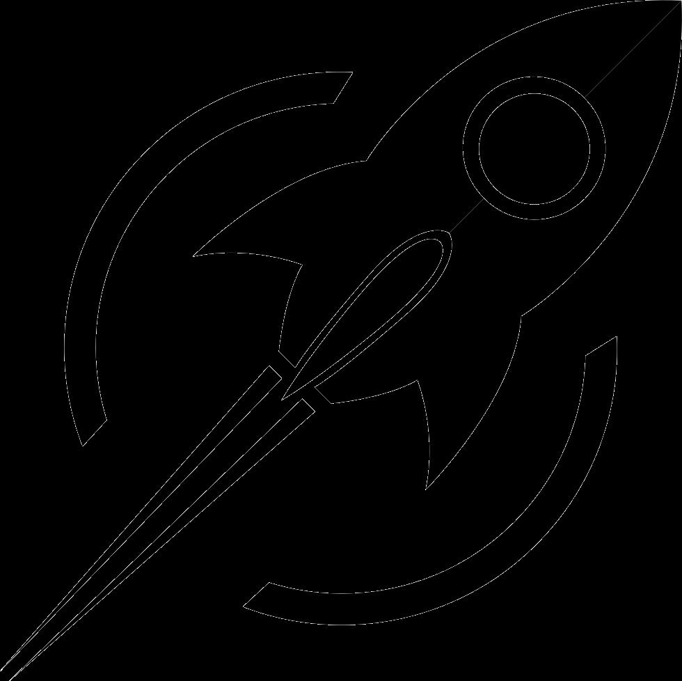 future rocket svg - 980×978