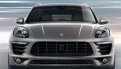 New 2016 Porsche Macan R4 SUV front Headlight