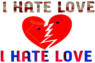 I hate love image