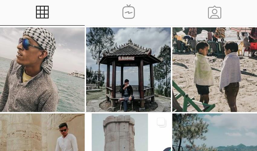 Agar tampilan Instagram Oneplus menjadi Dark Mode