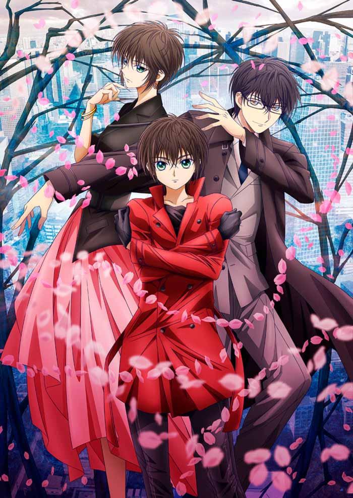 Tokyo Babylon (2021) anime - poster