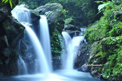 Two Colors Waterfall, North Sumatera4