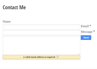 Cara Membuat Contact Form Untuk  Blogger