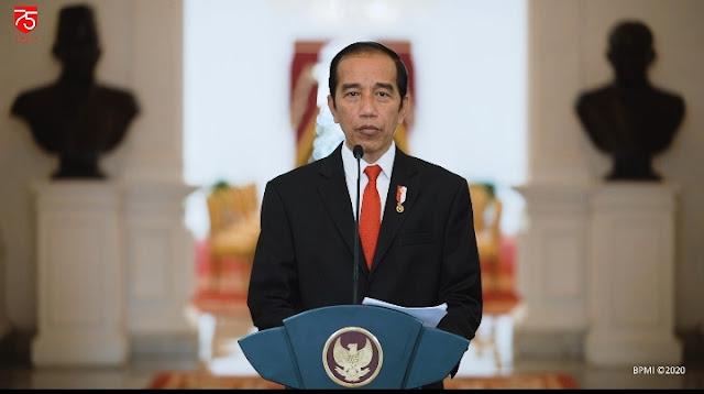 Pidato Presiden RI Terhadap Pasar Modal Ditengah Pendemo Covid-19.