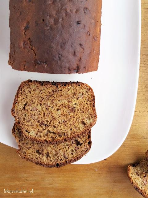 Ciasto bez tłuszczu fit bananowe przepis