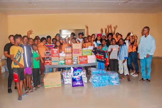 Salon Services Academy marks 4th Anniversary with a Donation to Teshie Children's Home