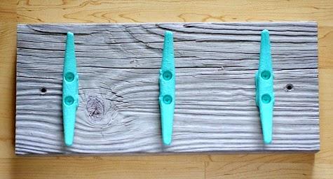 Nautical Cleat Wall Rack