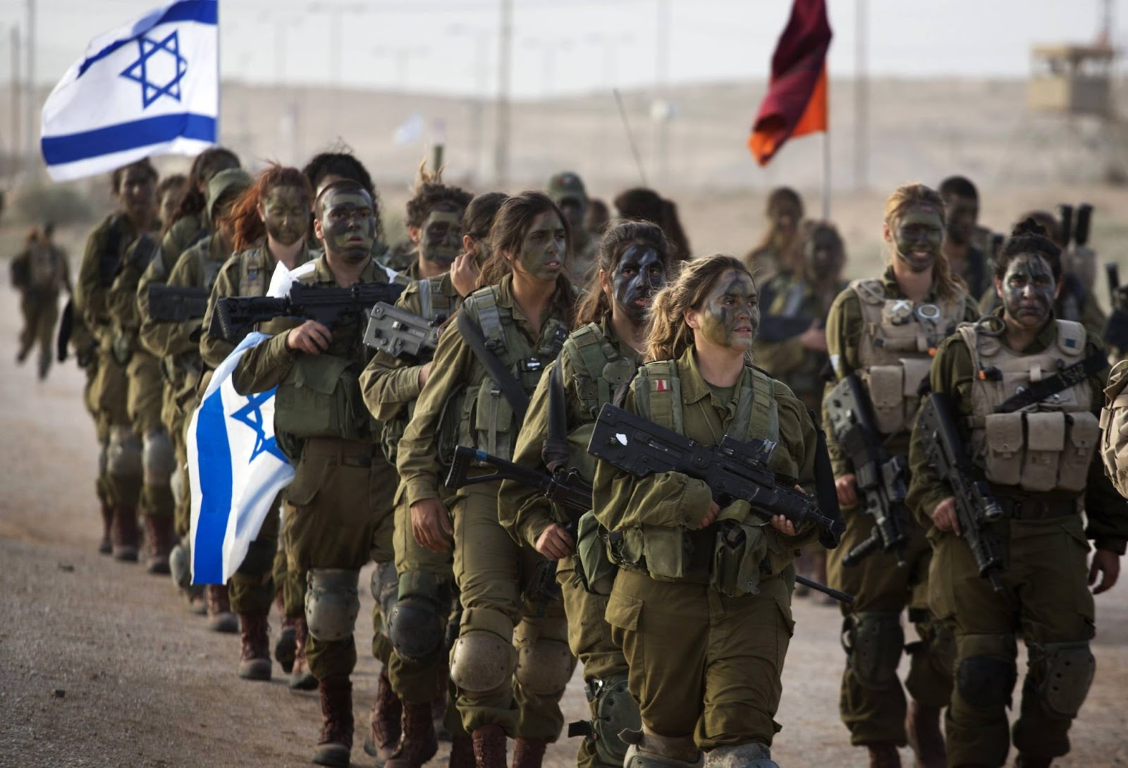 the new jacksonian blog islam and the clash of civilizations the 33rd caracal battalion take part in a graduation in the negev desert female warriors are an important symbol in the clash of civilizations