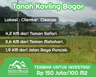 Kavling Citra Alam, Tanah Kavling Bogor