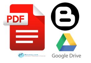 Panduan Menampilkan Halaman PDF Pada Blogger