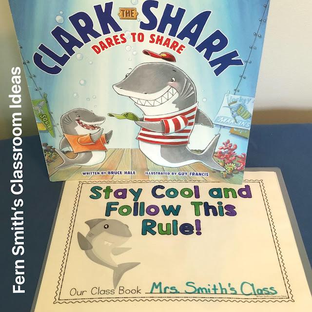 Click here to get my Clark the Shark Class Book Freebie
