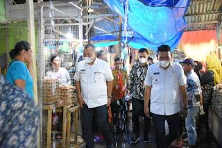 Sosialisasikan Pembangunan Pasar Sibolga Nauli, Wali Kota Berjanji yang Mendapatkan Kios Nantinya Adalah Pedagang Saat Ini