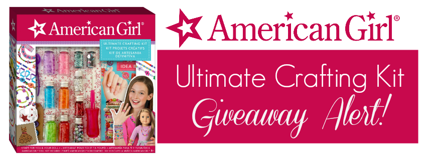 Simply Nerdy Mom American Girl Ultimate Crafting Kit Giveaway Hgg