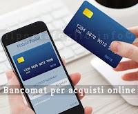 bancomat acquisti online