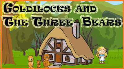 Goldilocks and the Three Bears Short Story with pictures and PDF