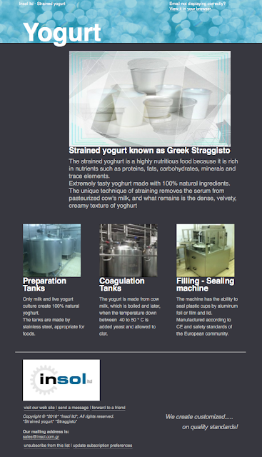 greek yogurt, manufacturer