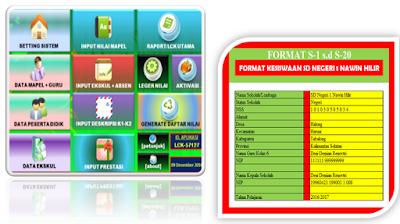 Aplikasi Administrasi Siswa Untuk Data Kesiswaan Berbasis Excel