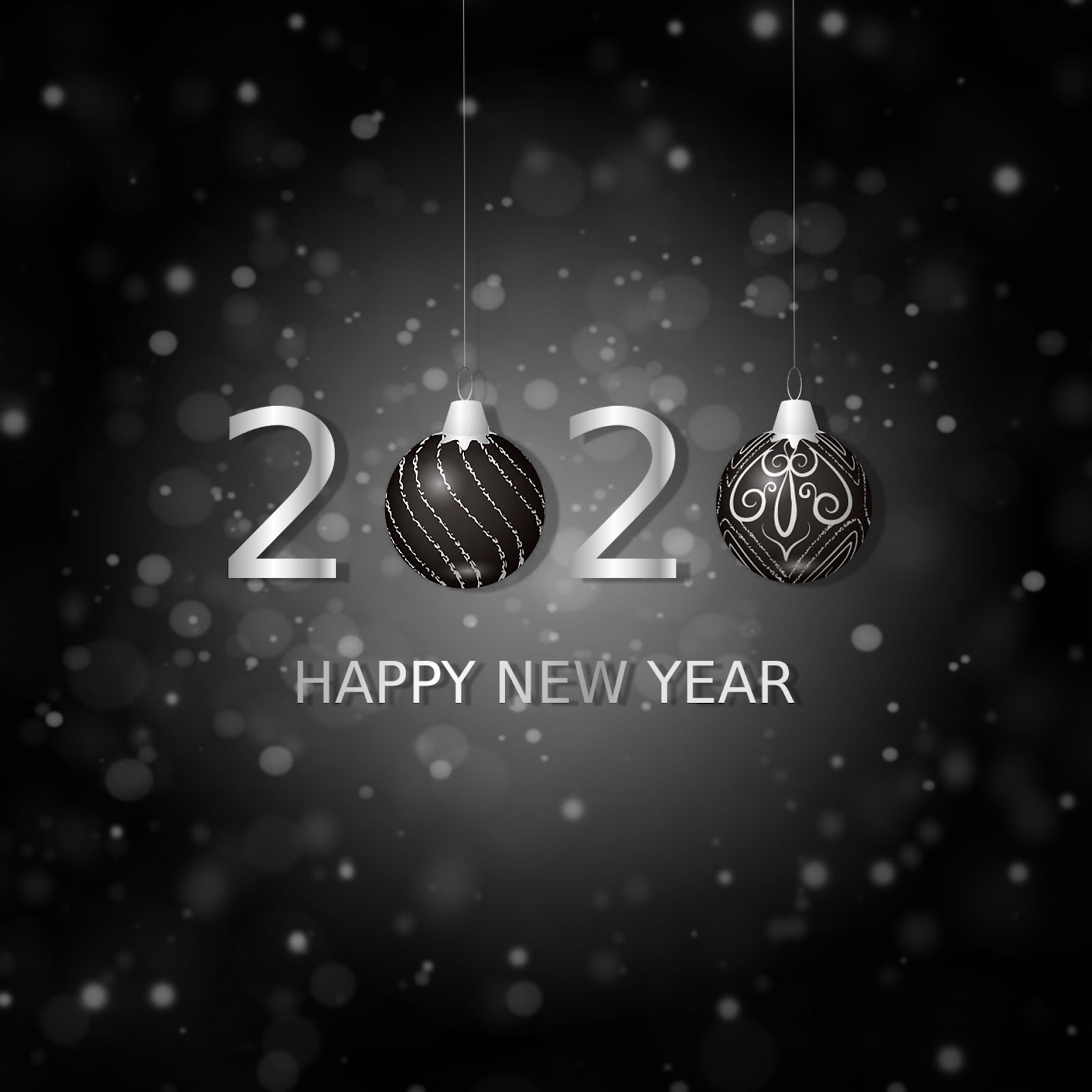 Happy New year and Merry Christmas HD Image Gif