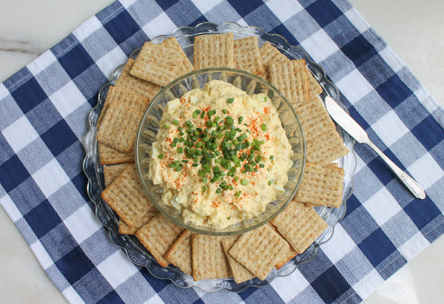 Food Lust People Love: My Southern-style tuna salad is an old family recipe, the one I grew up with. It's like egg salad but, of course, with added tuna, like we make it in the Southern United States.