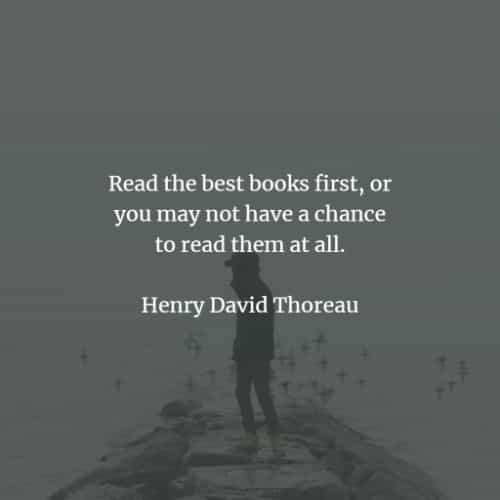 Famous quotes and sayings by Henry David Thoreau