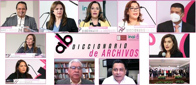 Pone el INAI a disposición de la sociedad el Diccionario de Archivos