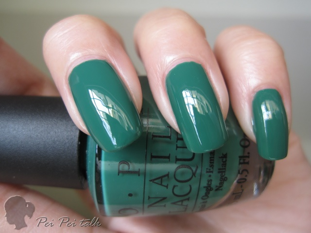 OPI H45-Jade is the New Black