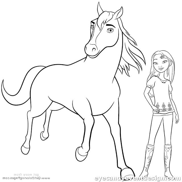 Ausmalbilder Pferde Zum Ausmalen