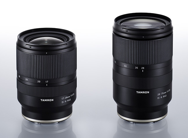 Объективы Tamron 17-28mm f/2.8 и 28-75mm f/2.8