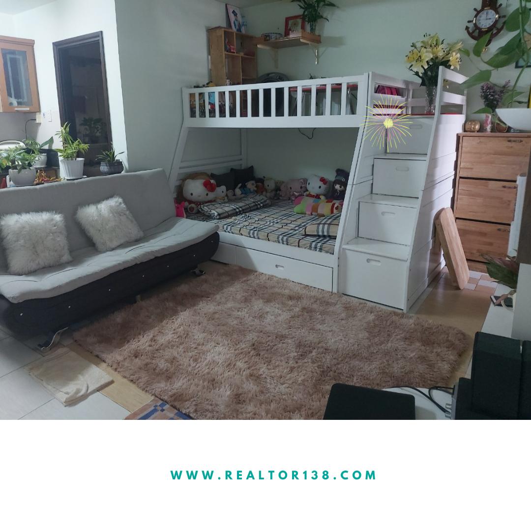 Cho thuê chung cư An Viên 1 phòng ngủ khu Nam Long, có nội thất