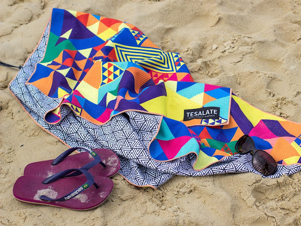 Stunning Compact Beach Towel Review From Tesalate