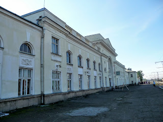 Стрый. Железнодорожный вокзал